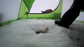 Зимняя рыбалка на Вячеславском водохранилище