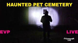 UGUE LIVE STREAM, HAUNTED PET CEMETERY