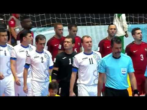 Match 26: Portugal v Uzbekistan - FIFA Futsal World Cup 2016