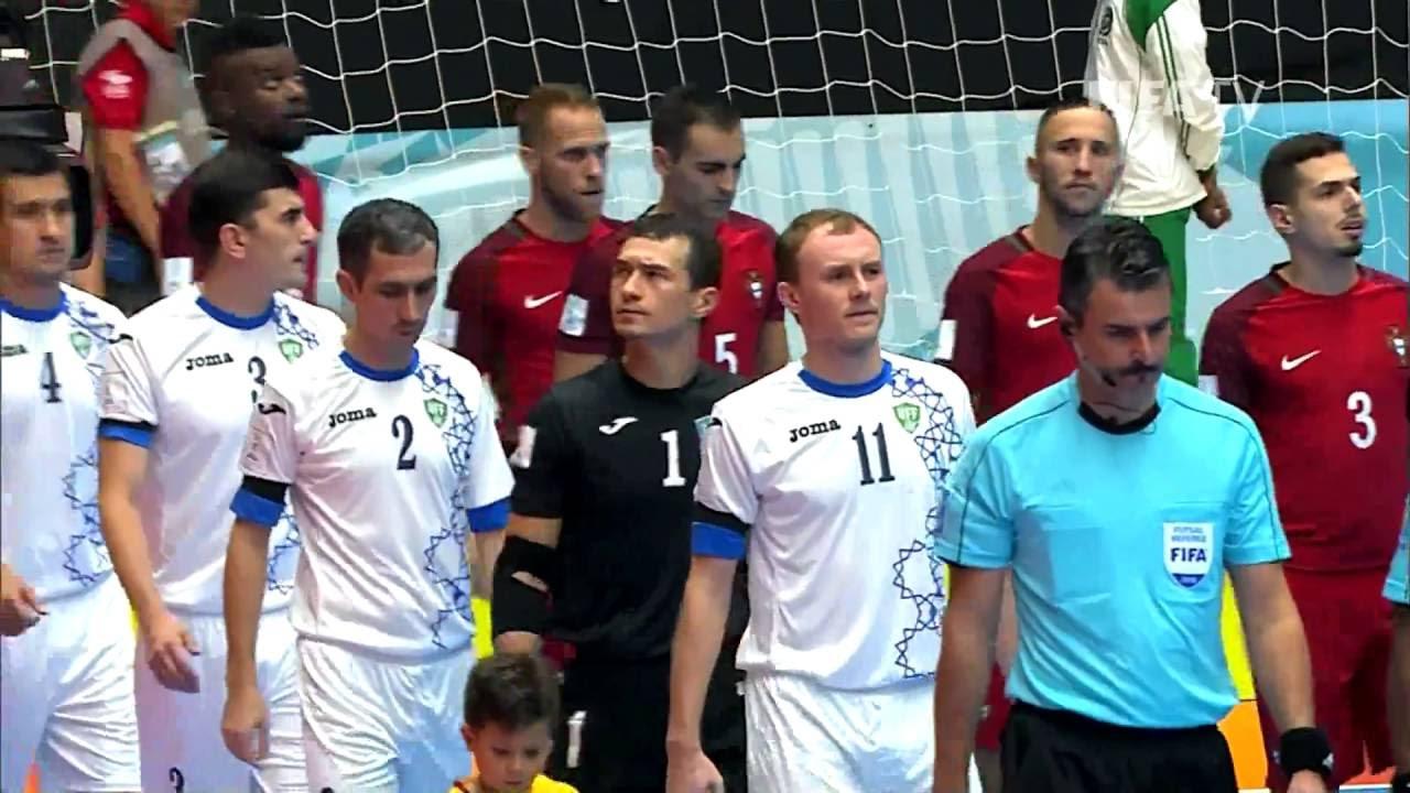 Video: Futsal Bồ Đào Nha vs Futsal Uzbekistan