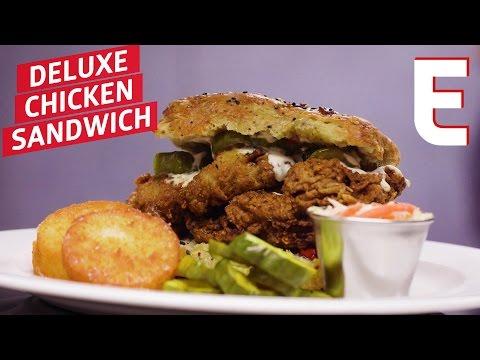Marc Forgione's Super Deluxe Chicken Sandwich — Snack Break