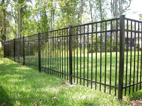 Aluminum Fence Ideas & Collection