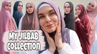 MY JILBAB COLLECTION! (LOOKBOOK WITH TRY ON)