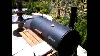 How To Make Carolina Pulled Pork In The Smoker - Part 1