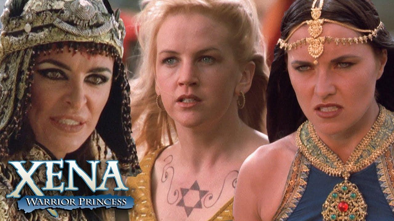 Download Xena and Gabrielle Fight Alti | Xena: Warrior Princess