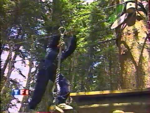 Reportage TV sur l'Aventure Parc - Les Gets (2000)