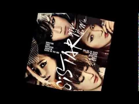 [Audio] Sistar -  Give It To Me (Full Album Download)