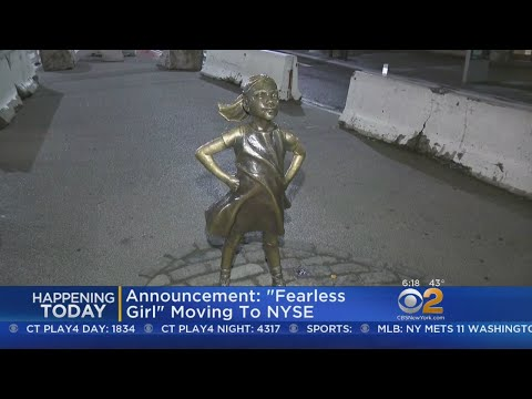 """Announcement: """"Fearless Girl"""" Moving To NYSE"""