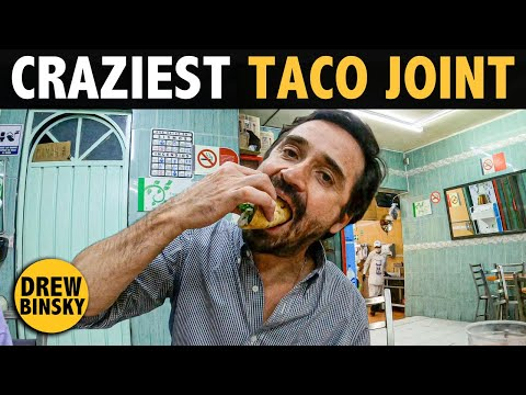 THE CRAZIEST TACO JOINT In MEXICO 🇲🇽