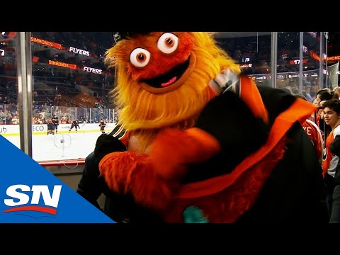 NHL Bloopers of the Week: Gritty Headlines Some Mascot Madness
