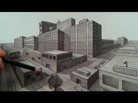 How to Draw Two Point Perspective