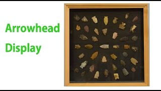 In this video I show you how to make a wood display case. We will take some original First Nations Arrowheads that were found in ...