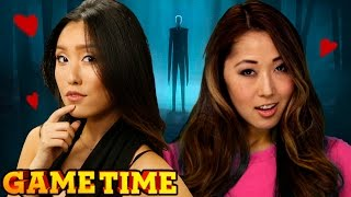 OUR DATE WITH SLENDER MAN (Gametime w/ Smosh Games)