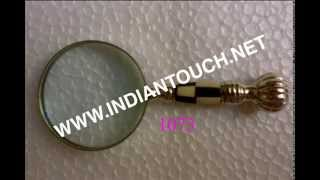 Brass Antique Magniying Glasses-indian Touch