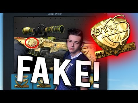 You Can Make a FAKE kennyS Souvenir Dragon Lore..