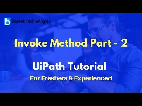 Invoke Method Part -2 | UiPath Tutorial For Beginners - YouTube