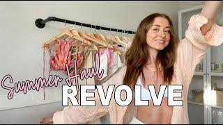SUMMER '21 REVOLVE TRY-ON HAUL! Bikinis, tees, denim + more | Blake Swanner