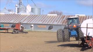 1993 Ford 946 Versatile 4WD tractor for sale | sold at auction May 14, 2014