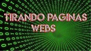 INTENTANDO TIRAR PAGINAS WEBS (DDoS Attack)