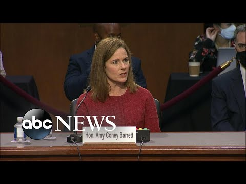 Democrats raise issues of women's rights to Amy Coney Barrett | WNT
