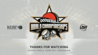 WDBF World Dodgeball Championships 2018 - Elimination - Court 1