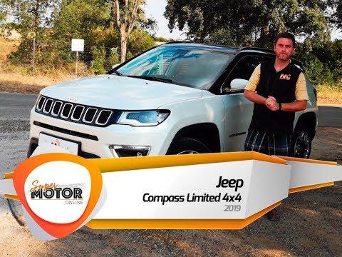 Jeep Compass Limited 4x4 2019 / Al volante / Prueba / Review / Supermotoronline.com