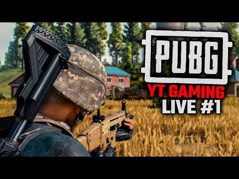 PU's Battlegrounds YouTube Gaming Live #1 (PUBG Greek)