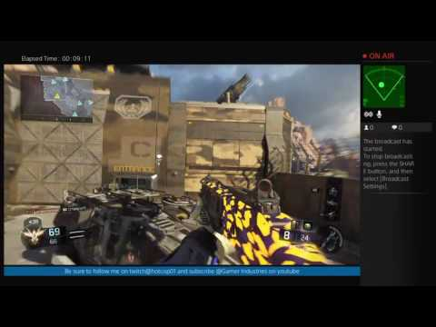 Gamer industries Black ops 3 thursday stream