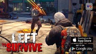 LEFT TO SURVIVE - Zombie Apocalypse - Gameplay [iOS Android] screenshot 1
