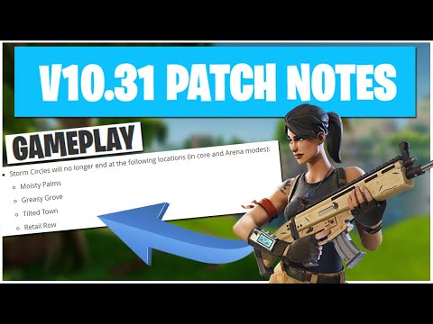 10 Out Of 10 Fortnite Update Details