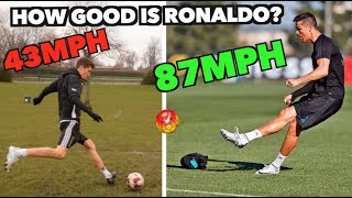 Cristiano Ronaldo VS Amateur Footballer - How good ACTUALLY is he??
