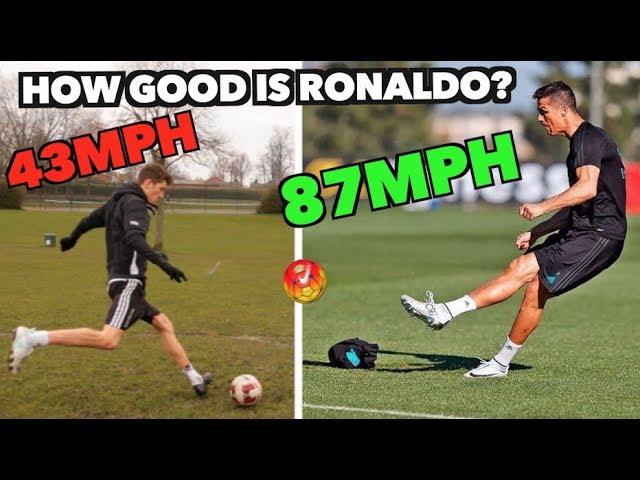 Cristiano Ronaldo VS Amateur Footballer - How good ACTUALLY is he??