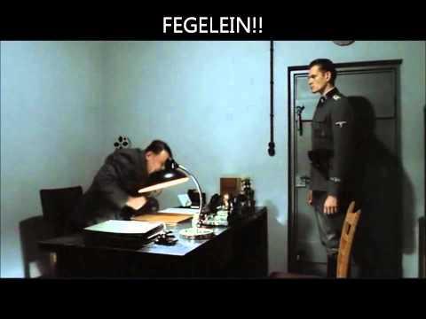 Hitler Thinks He's Bruno Ganz
