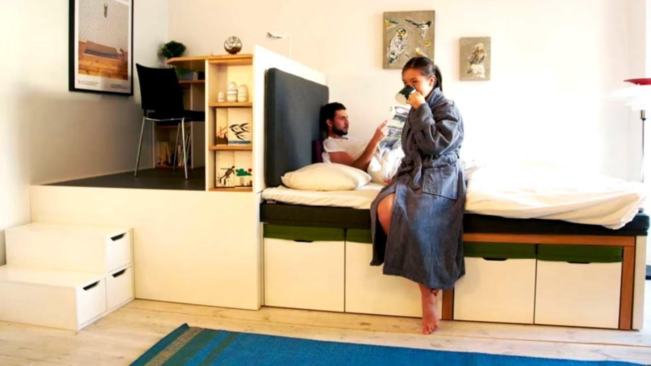 Smart furniture great space saving ideas