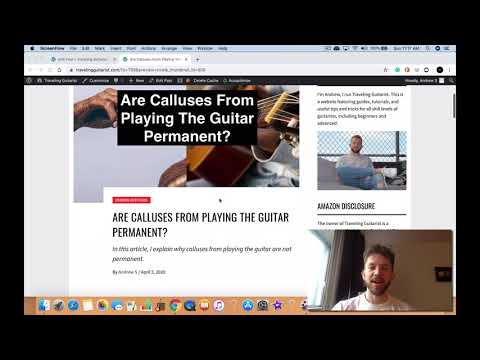 Are Guitar Calluses From Playing The Guitar Permanent?