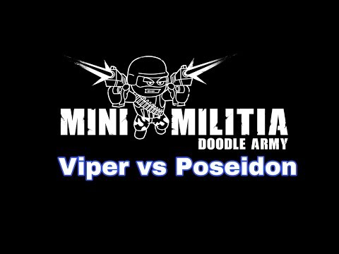 Mini Militia: Viper vs Poseidon [MUST WATCH🔥] (Read Description)