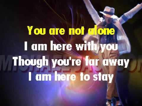 You Are Not Alone - Karaoke Michael Jackson Style.mp4