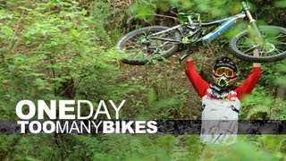 DH, Trail, Dirt Jump and Park - One Day, Too Many Bikes with Steve Bafus