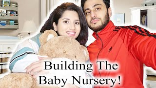 BABY NURSERY TIME | Building Our Nursery