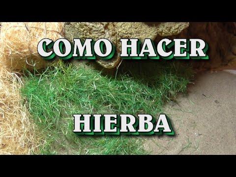 como hacer musgo hierba paja para el belen moss grass
