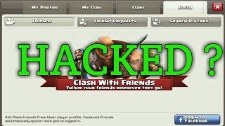 Clash of Clans got HACKED ?