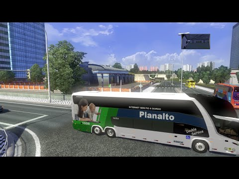 Download Euro Truck Simulator II, Tráfego by Linux com pinturas Brasileiras