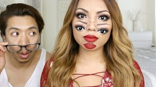 Trippy Double Vision Makeup Look thumbnail