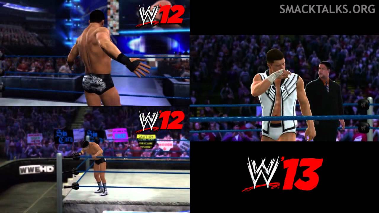 WWE '13: WWE '12 Cody Rhodes Comparison YouTube