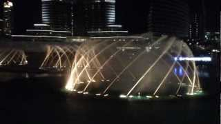 Dubai Fountain (Final Part of Water, Fire & Light Show)