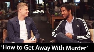 'How to Get Away With Murder': Alfred Enoch Interview | November, 2016
