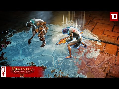 KNILES THE FLENSER - Divinity Original Sin 2 Gameplay Part 10 - [Coop Multiplayer]