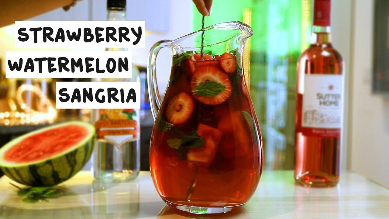 strawberry-watermelon-sangria