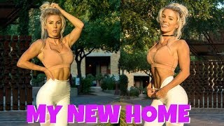 Tour of NEW HOME | Activating the GLUTES | Cute Gym Clothes