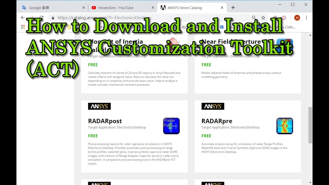 How to Download and Install ANSYS Customization Toolkit